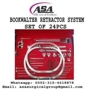 ASA Bookwalter Retractor System (Set of 24pcs)